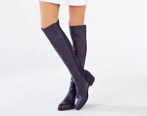 BCBG - Matteo over the knee boots (navy)