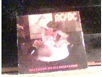 ac/dc vinyl record,45,you shook me all night long.