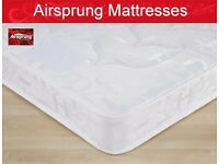 "Brand New Double 4`6"" Mattress by Airsprung. Free Delivery. Small Double size Available Too."