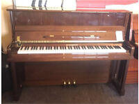 Steinhoven Upright Piano ~ Legs ~Beautiful Walnut Polish ~ 5 year old ~ Immaculate ~ Delivered!