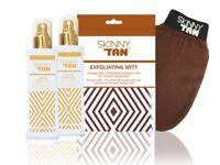 Skinny tan set