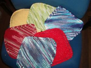 Various color dishcloths for sale $1.50 ea