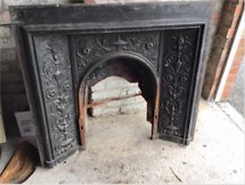 Victorian Wrought Iron Fireplace Surround