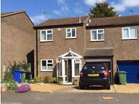 An extended three bedroom semi in Pattishall with garage and study plus downstairs shower room