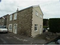 Lovely stone cottage near Bristol and Weston-Super-Mare, three double bedrooms, coach house garage.