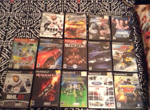 Many ps2 games on sale