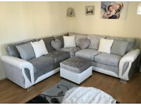 New Scs Corner sofa with Free footstool