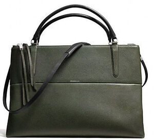 COACH Black Leather Bag for $490 (Original price $798)