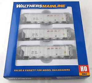 Walthers 50' RD-4 Hopper 3 pack