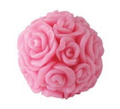 BioFresh ROSE VON BULGARIEN Glycerin Seife Rose Ball 40g mit natürlichem Rosenöl - Natürliche Glycerin Seife