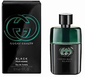 7fb20352e Gucci Guilty Black 50ml Eau De Toilette Spray for Men 100 Genuine ...