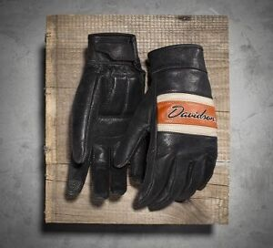 Harley Davidson Leather Gloves. Ladies. XL