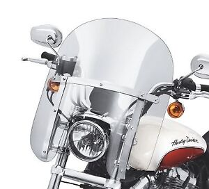 Sportster quick detach windshield