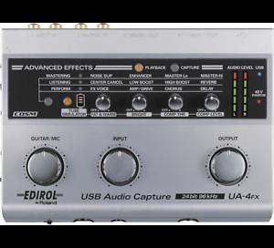 Roland UA-4FX Edirol USB audio/MIDI interface Fremantle Fremantle Area Preview
