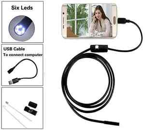 Inspection Camera 1M USB Security Spy Cam For Android Windows OS