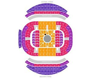 2 x Adele section A reserve near stage  10 March Sydney Reid North Canberra Preview