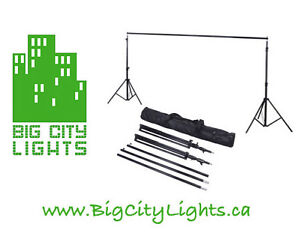 BRAND NEW! - Backdrop support kit - 2 stands & Crossbar!