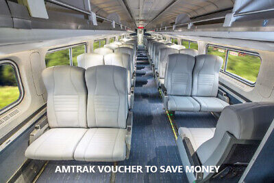 SAVE BIG % WITH AMTRAK VOUCHER (VALUE $80 ) AND ENJOY YOUR TRIP
