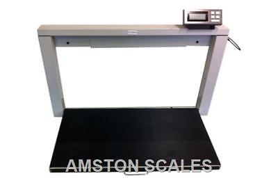 700 Lb 38 X 20 Digital Scale Wall Mounted Vet Veterinary Animal Dog Pet Goat 4h