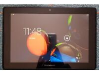 Lenovo Tablet (10.1 inches) in great working condition. WiFi + SIM Card