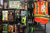 Be seen! Be safe! Reflective gear at Outsider Adventures Inc.