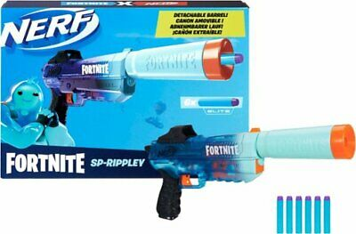 Hasbro - Nerf Fortnite SP-Rippley Elite Dart Blaster