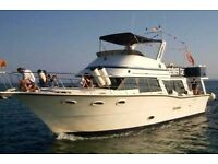 Boat charter business with 50ft boat