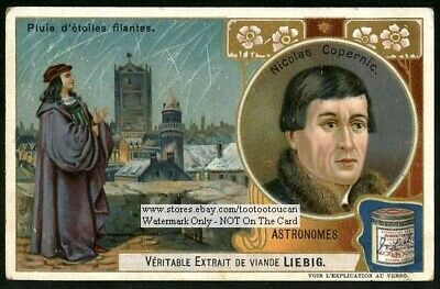 Astronomer Nikolaus Copernicus Kopernikus Poland Astronomy c1906 Trade Ad Card