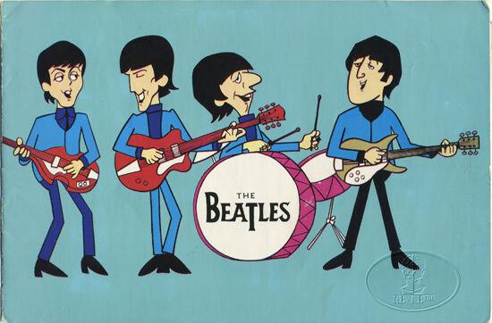 BEATLES 1965 UK Tour Concert Program Tour Book Moody Blues Procol Harum + Poster