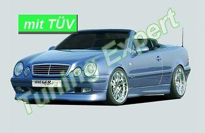 Rieger Tuning Spoilerlippe Frontlippe für Mercedes CLK W208