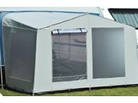 Ventura 300 tall caravan awning annexe from Isabella group in grey