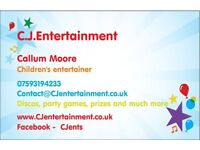 Children's parties/discos and entertainers