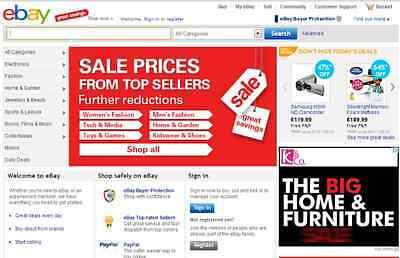 Ebay Clone Website