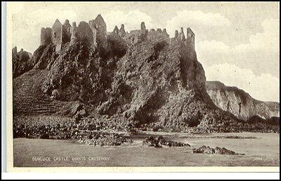 Nordirland Giant´s Causeway ~1930 Dunluce Castle Pc AK