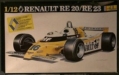 Heller 1/12 Renault RE20/RE23