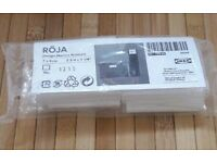 ROJA Ikea plastic storage box label holders