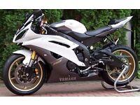 2013 Yamaha YZF-R6, R6, White, 600cc, Over £7,000 Worth of Extras, One-Off Custom Bike