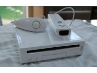 Nintendo Wii and Wii fit balance board and games