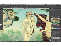 ADOBE PHOTOSHOP, INDESIGN, ACROBAT, ILLUSTRATOR CS6,etc... MAC-PC