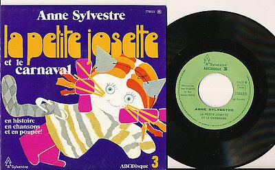 """ANNE SYLVESTRE LIVRE DISQUE 17"""" LA PETITE JOSETTE"""