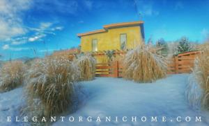 Elegant Organic Eco House on Quarter Acre in the Okanagan