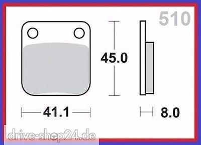 Bremsbeläge Bremsklötze für BASHAN BS 200-7 China-Quad