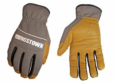 Youngstown Glove 12-3180-70-xl Hybrid Plus Performance Glove Extra Large Gray