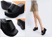 Wedge Slippers