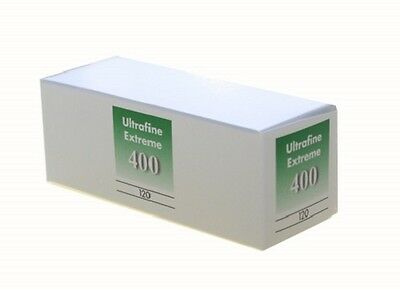 10 Rolls Ultrafine Xtreme Black & White 120 Film ISO 400 B & W FRESH 02/2023