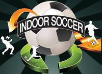 JOIN our INDOOR SOCCER group every MONDAY NIGHT