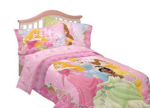Disney Princess Full Bedding Set Ebay