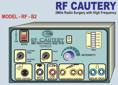 Electrocautery 2mhz Surgical Cautery Radio Electrosurgical Generator Machine 67