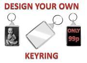 Name Tag Key Rings