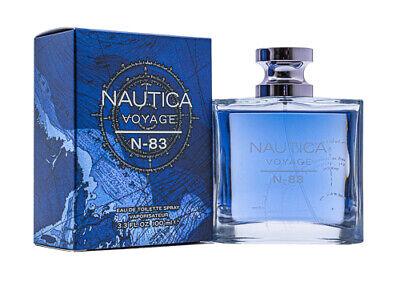 Nautica Voyage N-83 Cologne 3.4 Oz Edt For Men - NAUVN-